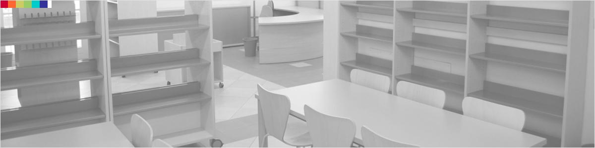 Design moderno ergonomico elegante e essenziale for Arredi per biblioteche